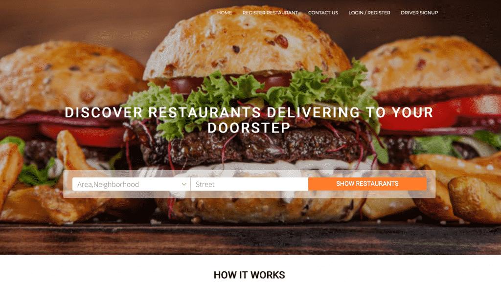 comidaxpress.com home page