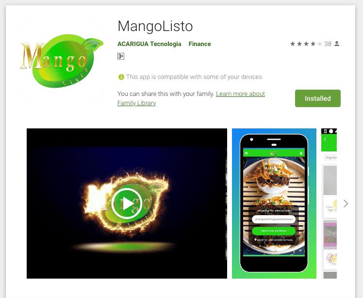 mangolisto play store app