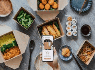 Food delivery-SocialAdFunnel